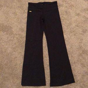 Black boot cut leggings